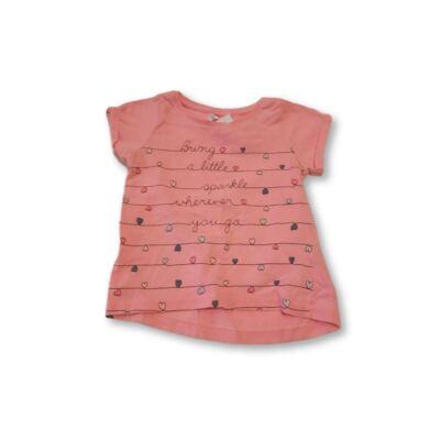 74-es rózsaszín feliratos póló - Pepco