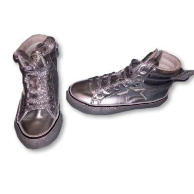 31-es ezüst magasszárú cipő - Next