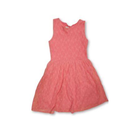 140-146-os rózsaszín csipkés ujjatlan ruha - tammy