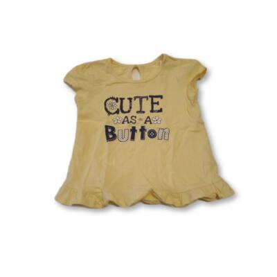 86-os sárga feliratos fodros póló