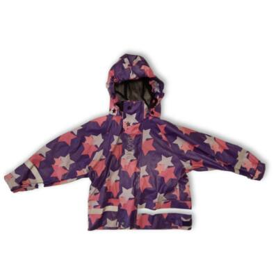 110-es lila csillagos esőkabát