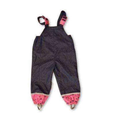 80-86-os kék-pink esőnadrág - X-Mail - ÚJ