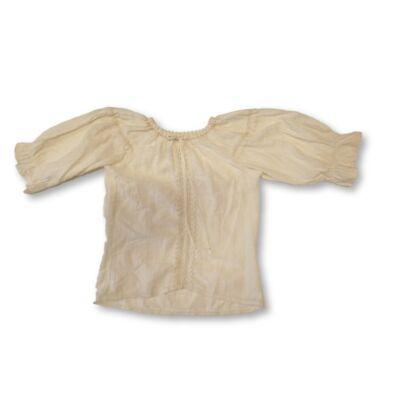 116-os fehér néptáncos lenes blúz