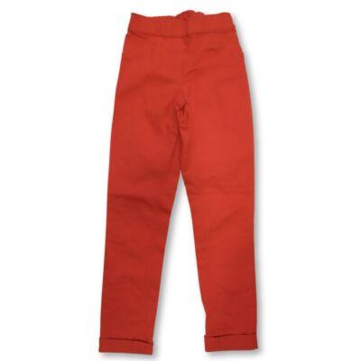 140-es piros farmervászon unisex nadrág