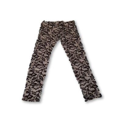 134-es fekete-fehér mintás nadrág - F&F