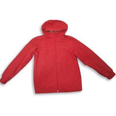 134-140-es piros átmeneti dzseki - Decahtlon