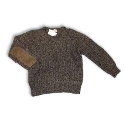 110-es szürke kötött pulóver - Zara