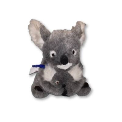Koala kicsinyével