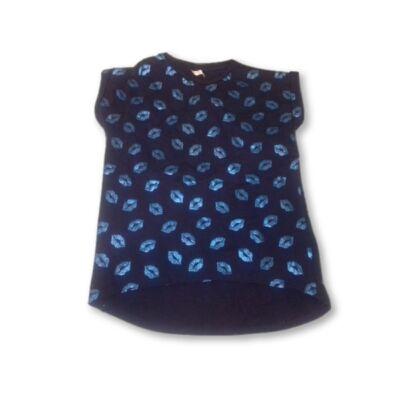 146-152-es kék szájas póló - Pepco