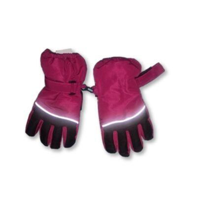 4-5 évesre pink-fekete síkesztyű