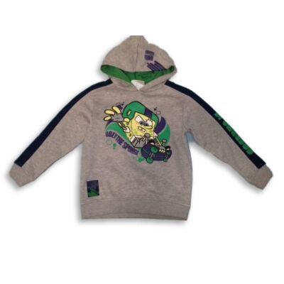 122-es szürke pulóver - Spongyabob kockanadrág