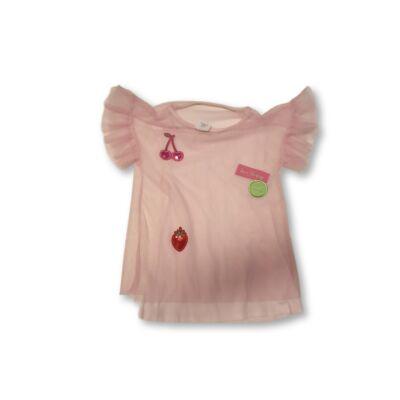 128-as rózsaszín tüllös póló - Zara
