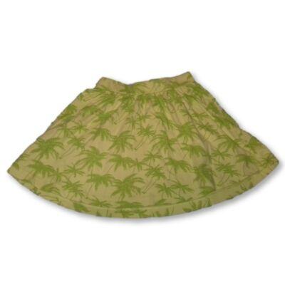 128-as zöld pálmafás szoknya - C&A