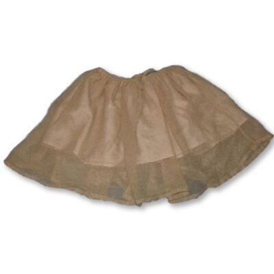 116-os aranyszínű csillog szoknya - H&M
