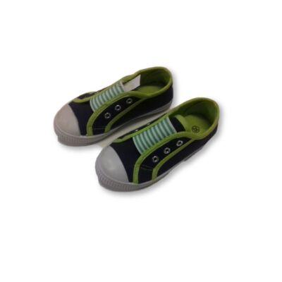 28-as kék-zöld vászoncipő
