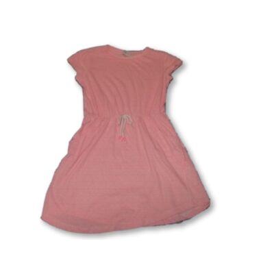 152-es rózsaszín halszálka mintás pamut ruha - Pepco