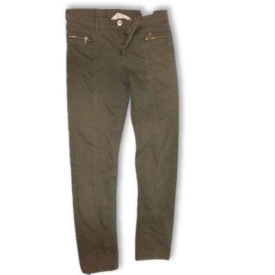 146-os khaki lány farmernadrág - H&M