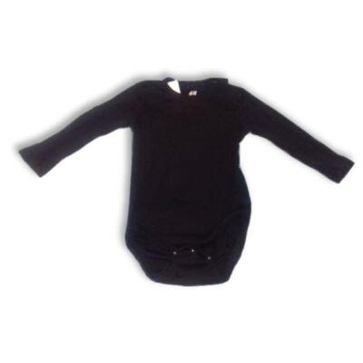 74-es fekete hosszúujjú body - H&M