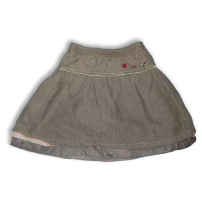 98-as barna szövethatású szoknya - Adelie