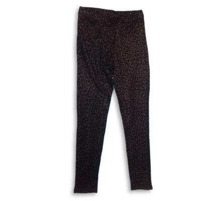 152-es fekete párducmintás leggings jellegű nadrág - OVS, Oviesse