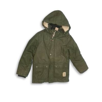 134-es khaki kapucnis kabát - H&M
