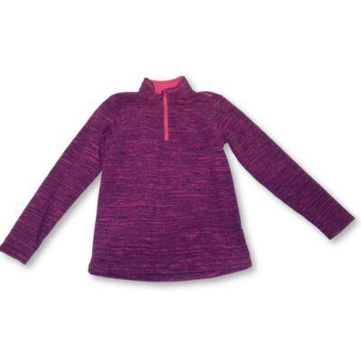 128-as lila polár pulóver - Decathlon