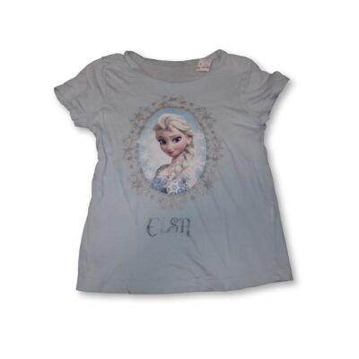 134-es világoskék póló - Elsa - Frozen, Jégvarázs