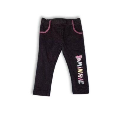 74-80-as fekete leggings - Minnie Egér