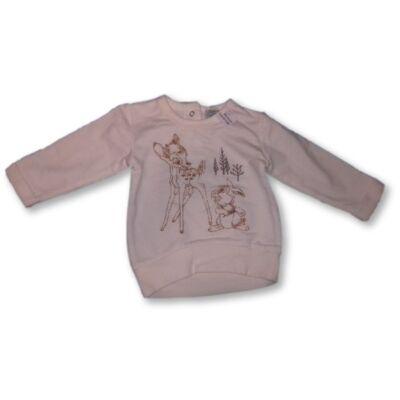 68-as törtfehér pulóver - Bambi