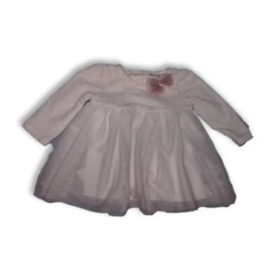62-68-as fehér tüllösalkalmi ruha - Catherine Malandrinc
