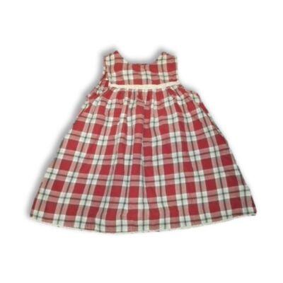 86-os piros kockás ruha - H&M