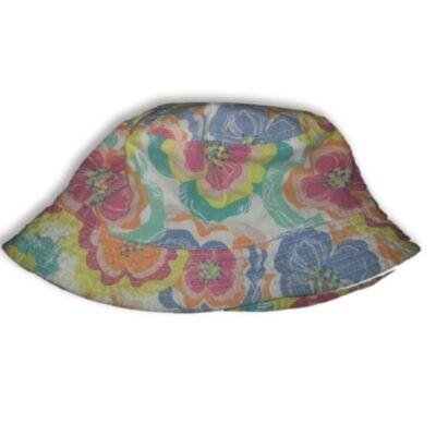 Virágos nyári kalap