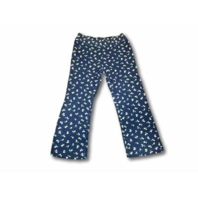 98-as kék virágos pizsamaalsó - In Extenso