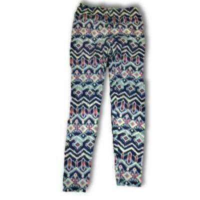 128-as kék-rózsaszín nyári pamut nadrág - Y.F.K