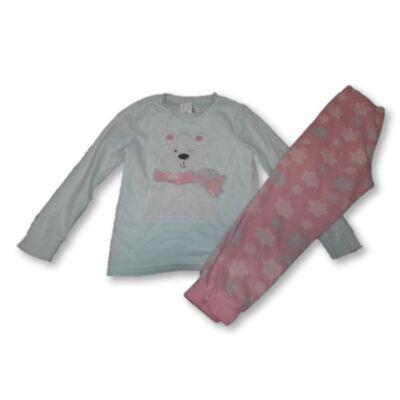 128-as polár lány pizsama - F&F