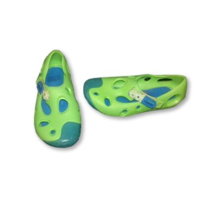 28-as kék-zöld gumicipő, vízicipő - Clarks Doodles