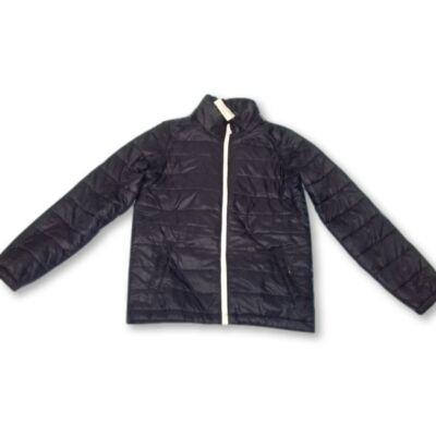 134-140-es sötétkék átmeneti kabát - Alive