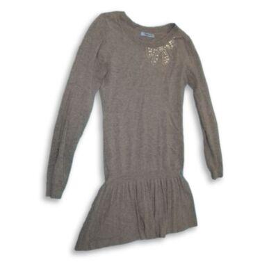 152-es szürke kötött ruha