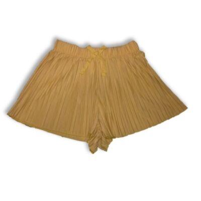 122-es sárga rakott anyagúlenge short - Zara