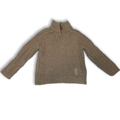 116-os khaki kötött pulóver - Next