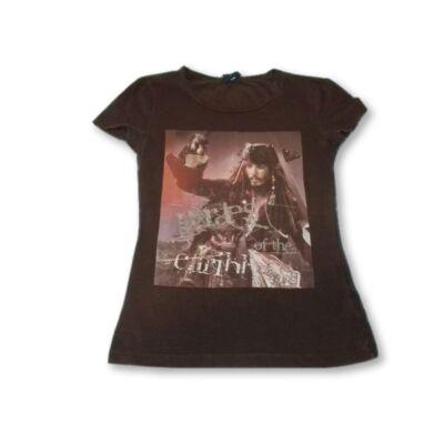 140-146-os barna lány póló - A Karib tenger kalózai - Disney