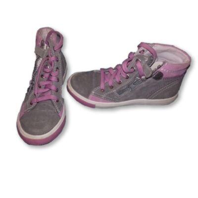 30-as szürke-rózsaszín magasszárú cipő - Richter