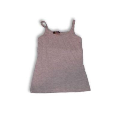 128-134-es szürke lány trikó - Pepco