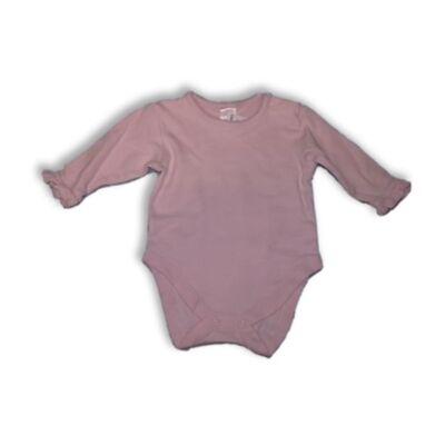 62-es rózsaszín hosszúujjú body - Next
