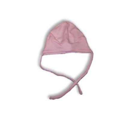 34-36 cm-es fejre rózsaszín pamutsapka