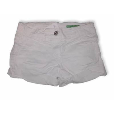 122-es fehér short, rövidnadrág - Benetton