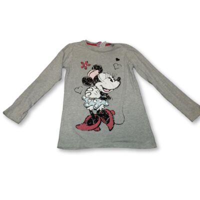 140-es szürke pamutfelső lánynak - Minnie Egér - Next - Disney