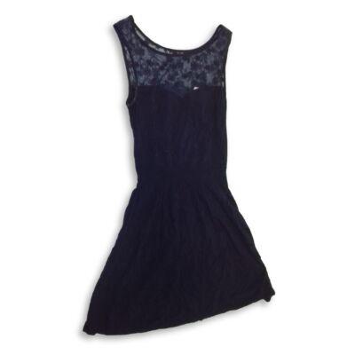 158-as kék csipkés ruha, alkalmi ruha