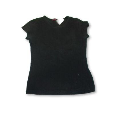 128-as fekete angyalszárnyas póló
