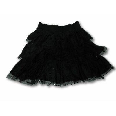 122-es fekete tüllös fodros szoknya - Marks & Spencer